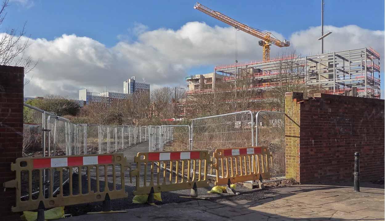 Building Site Scaffolding | Premier Energy