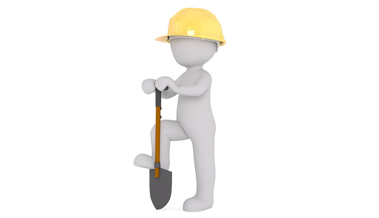Hard Hat And Shovel | Premier Energy