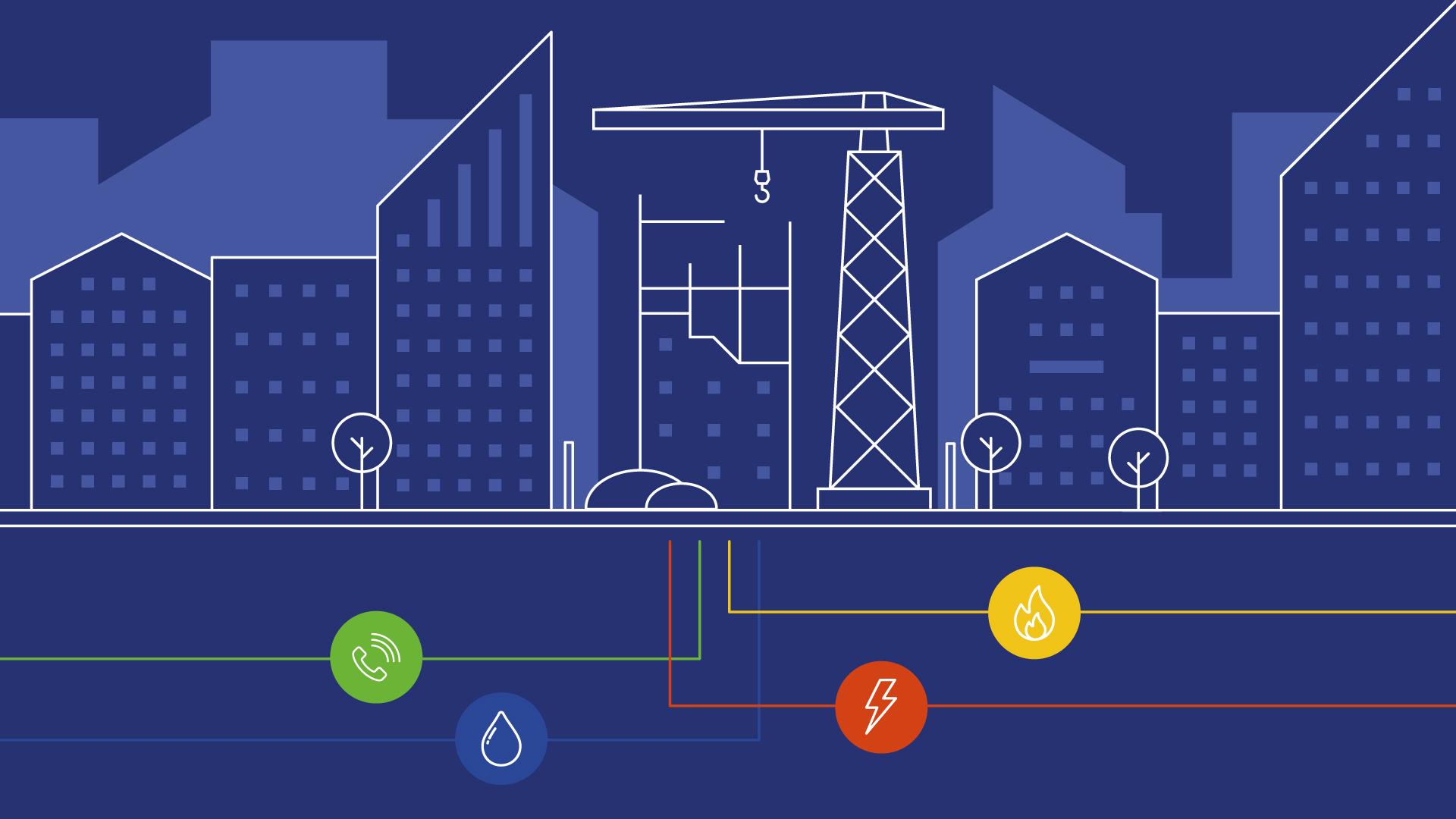 Construction UK - Utilities - Telecoms, Water, Electric, Gas